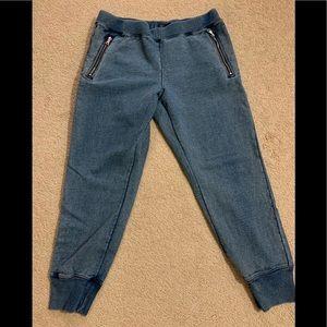 Ladies Gap Sweatpants - Size Lg - Color of Denim